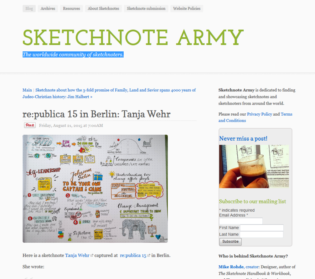 sketchnotearmy 1