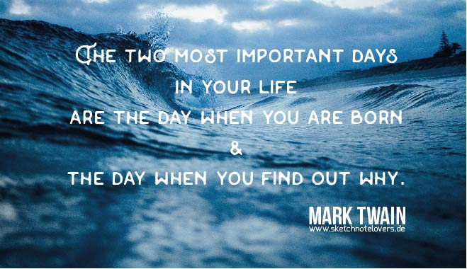mark twain two days wave