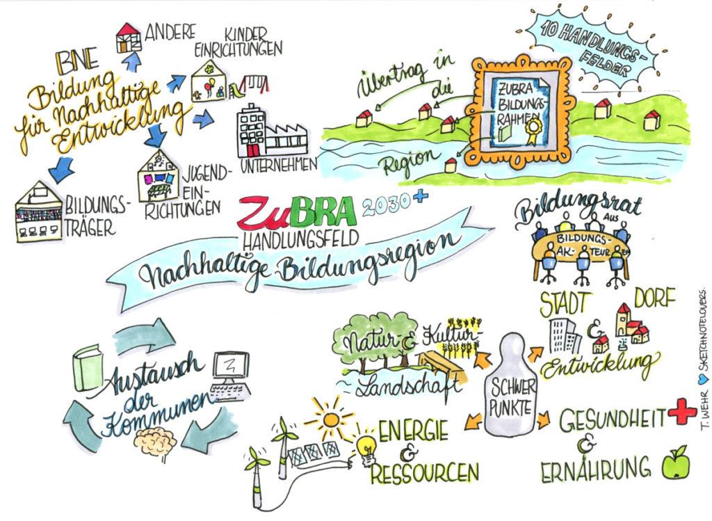 Bildung ZuBRA SketchnoteSNL