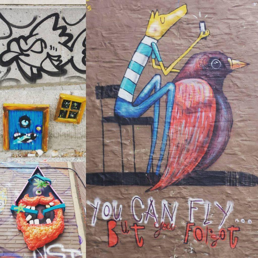 Ein bisschen streetart aus Brssel Es gab soviel zu entdeckenhellip