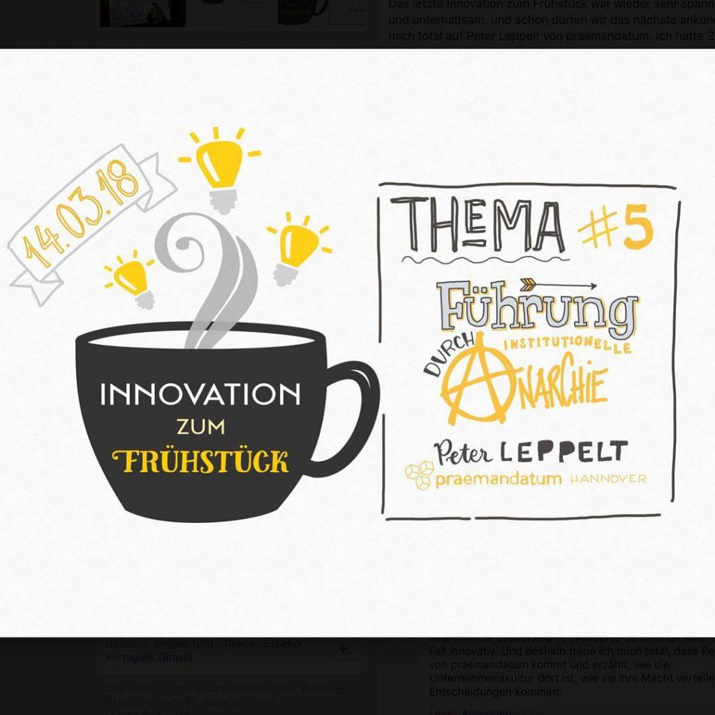 Innovation zum Frhstck geht in die 5 Runde Wir freuenhellip